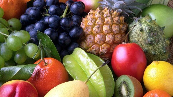 Unas frutas, referencial - Sputnik Mundo
