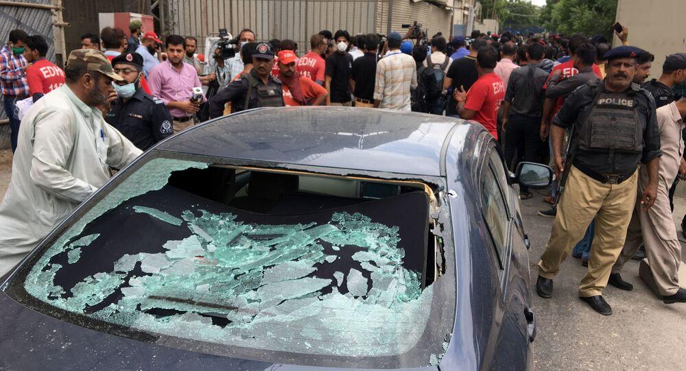 Ataque a la Bolsa de Karachi