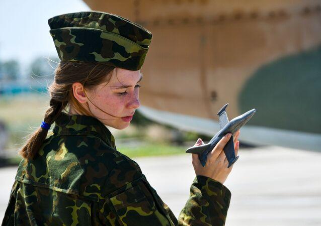 Las cadetes rusas, listas para pilotar sus primeros aviones militares