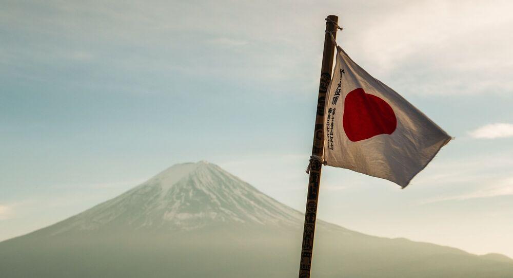 La bandera de Japón (imagen referencial)