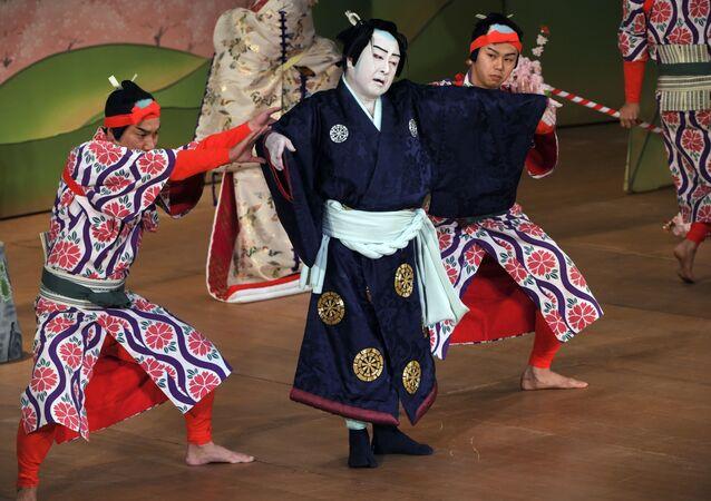 El tradicional teatro nipón Kabuki