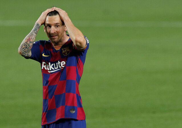 Lionel Messi, futbolista del FC Barcelona