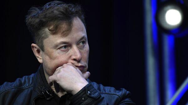 Elon Musk, fundador de Tesla - Sputnik Mundo