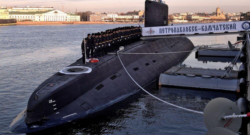 Submarino ruso Petropavlovsk-Kamchatski