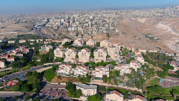 Asentamientos israelíes en la Cisjordania ocuapda - Sputnik Mundo