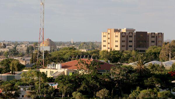 Antiguos asentamientos judíos en el sur de la Franja de Gaza - Sputnik Mundo