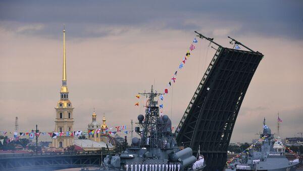 El Día de la Armada rusa (archivo) - Sputnik Mundo