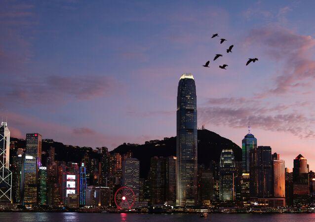 Vista general a Hong Kong