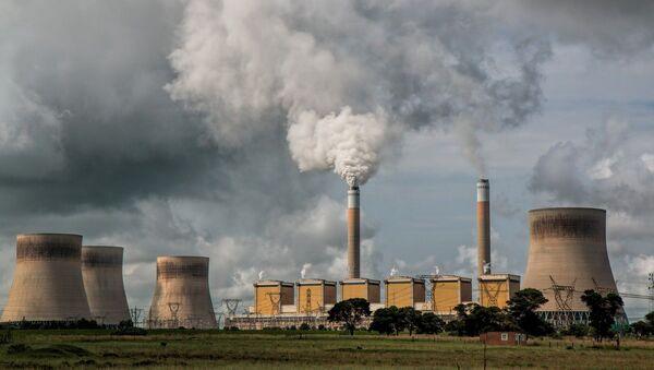 Imagen referencial de central eléctrica - Sputnik Mundo