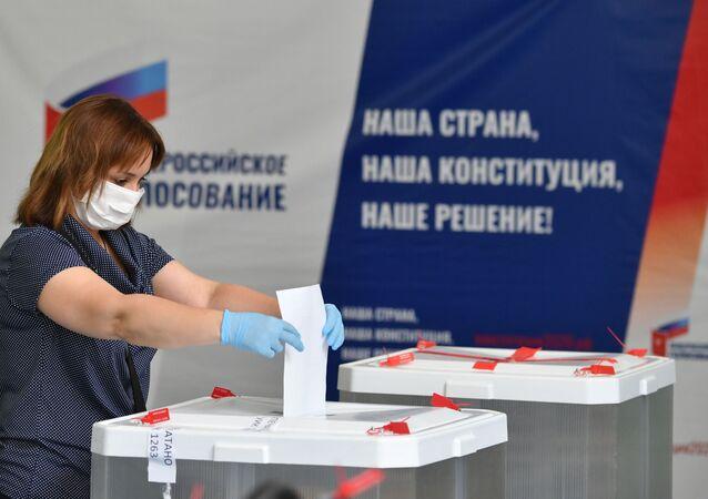 Votación sobre las enmiendas a la Carta Magna en Rusia