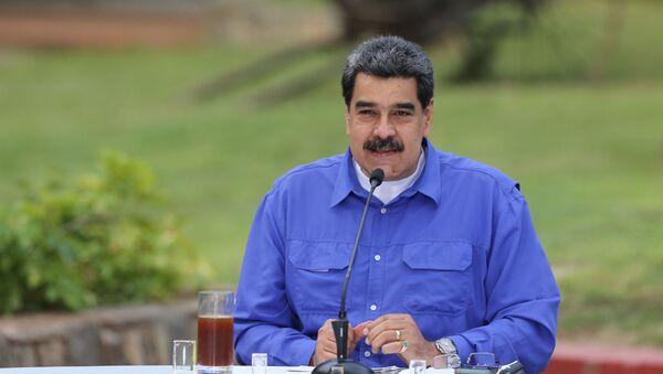 Nicolás Maduro, presidente venezolano - Sputnik Mundo