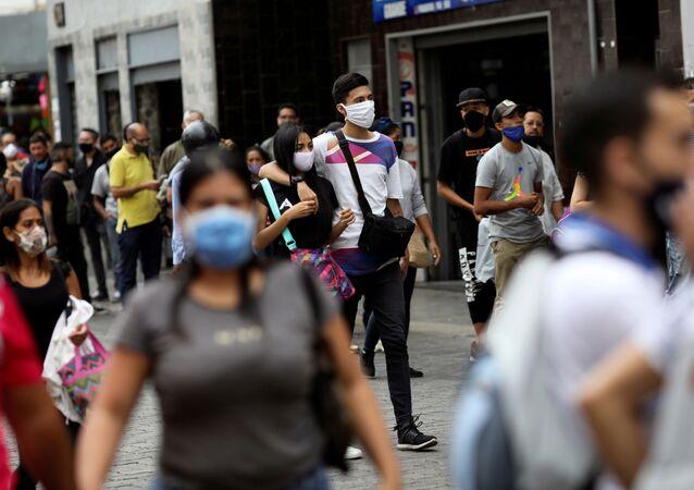 El coronavirus en Venezuela (archivo)