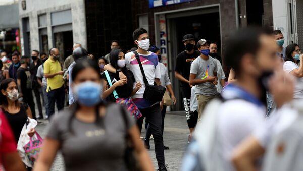 El coronavirus en Venezuela (archivo) - Sputnik Mundo