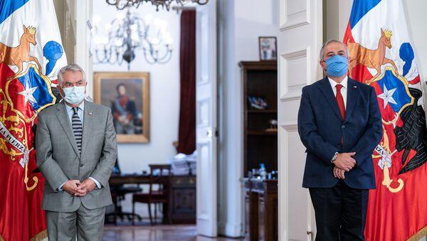 Enrique Paris, nuevo ministro de Salud de Chile - Sputnik Mundo