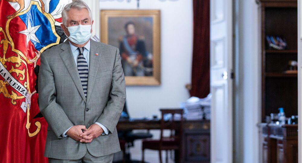 Enrique Paris, nuevo ministro de Salud de Chile