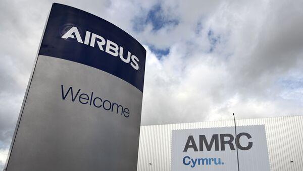 Planta de Airbus en Borughton, al norte de Gales - Sputnik Mundo