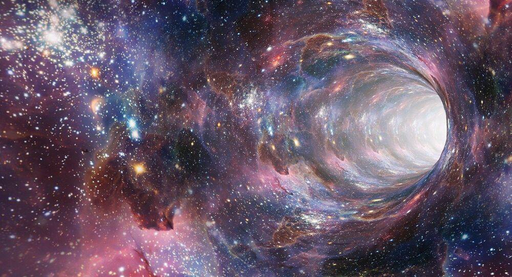 Imagen referencial de la galaxia