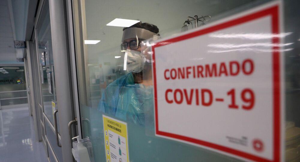 Brote de coronavirus en Paraguay