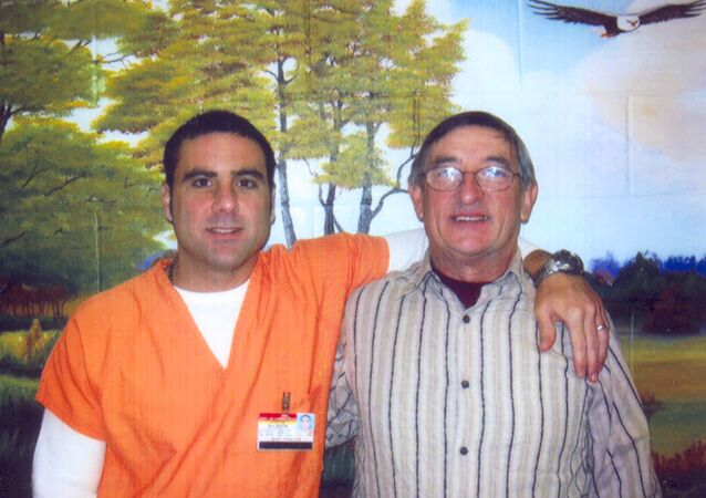 Pablo Ibar y su padre Cándido Ibar