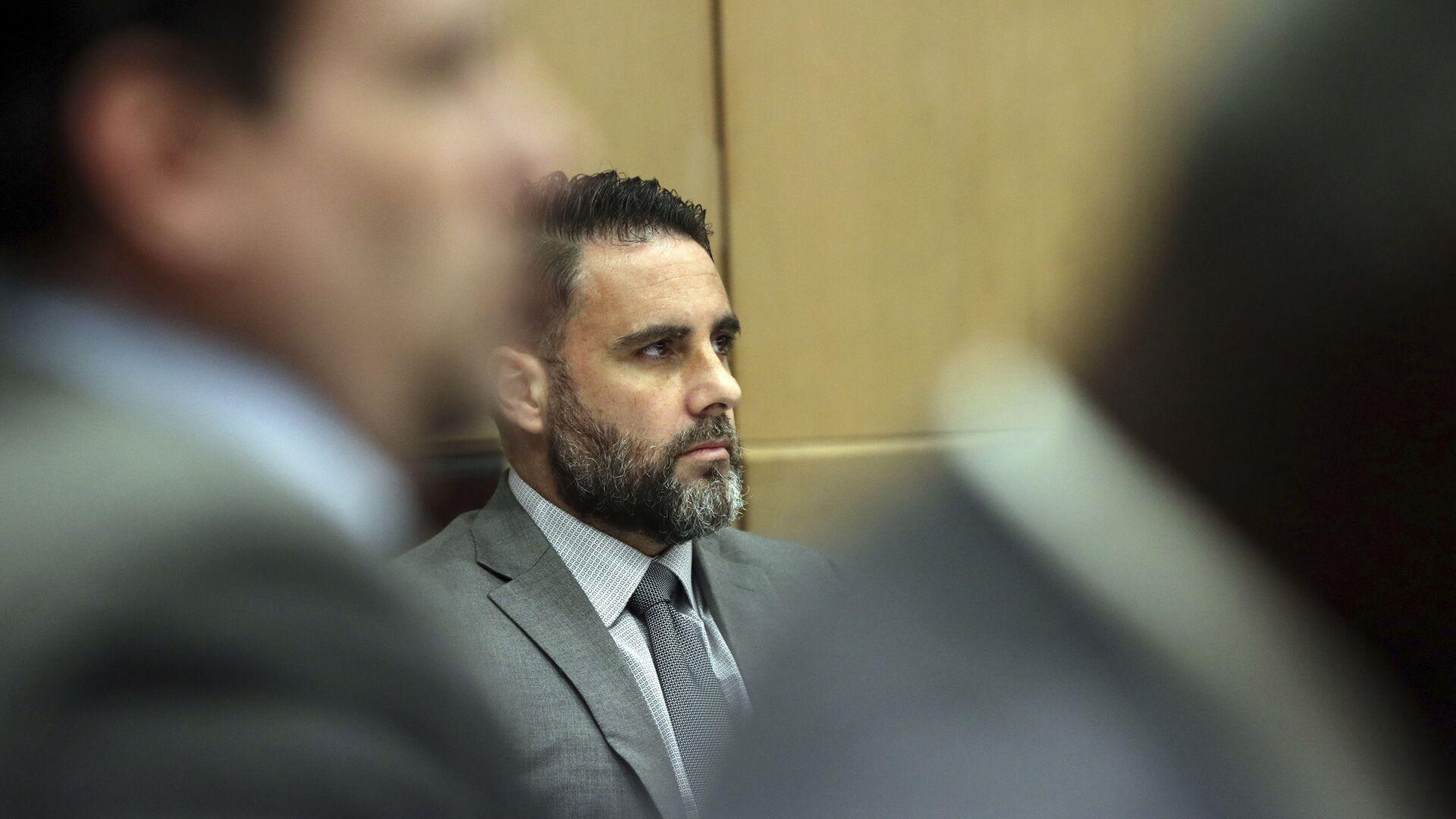 El preso hispano- estadounidense Pablo Ibar, durante el juicio en 2019 - Sputnik Mundo, 1920, 20.07.2021