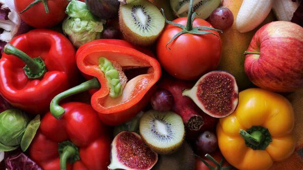 Frutas y verduras (imagen referencial) - Sputnik Mundo