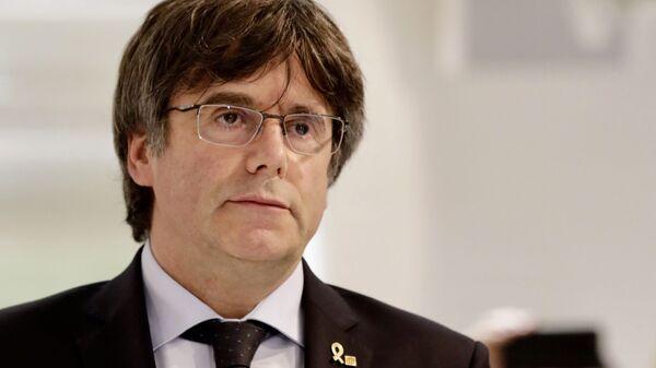 Carles Puigdemont, líder independentista catalán - Sputnik Mundo