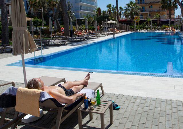 Alemanes llegan a Mallorca