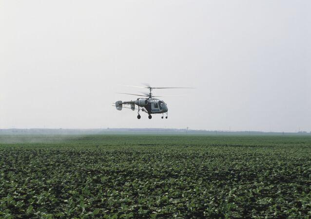 Un helicóptero soviético Ka-26