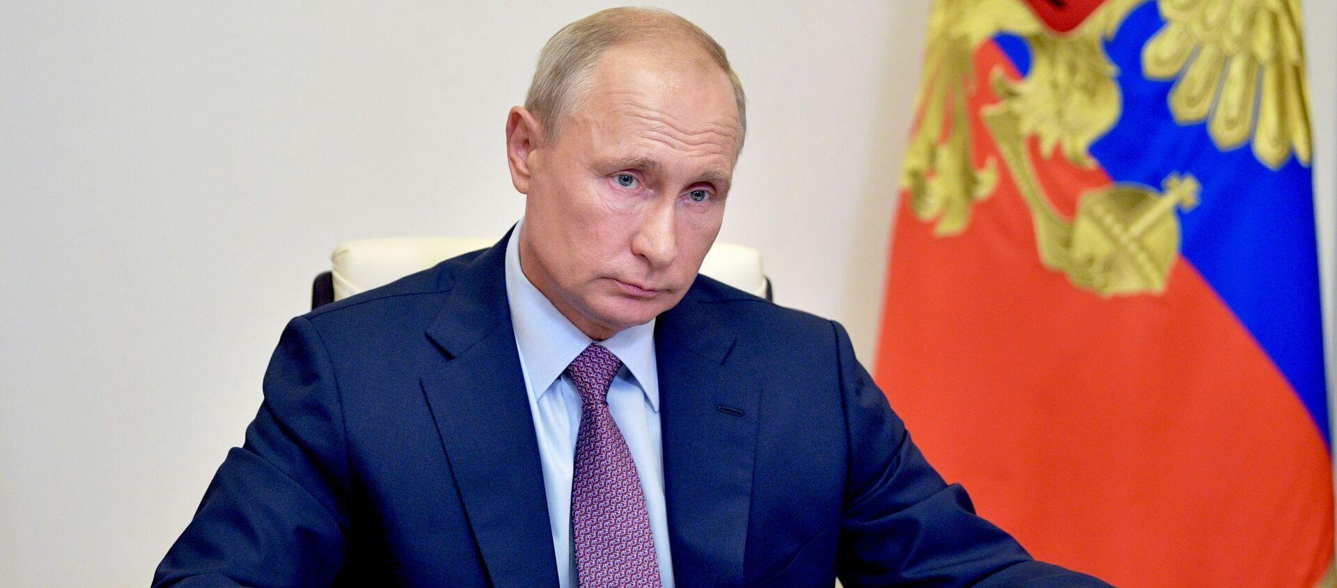 Vladímir Putin, presidente de Rusia - Sputnik Mundo, 1920, 22.10.2020