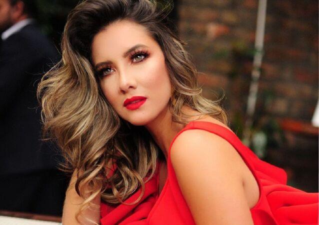 Daniella Álvarez, modelo colombiana