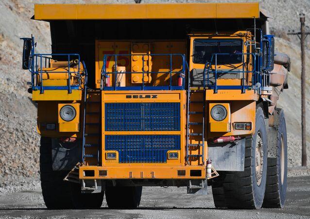 Un camión Belaz (archivo)