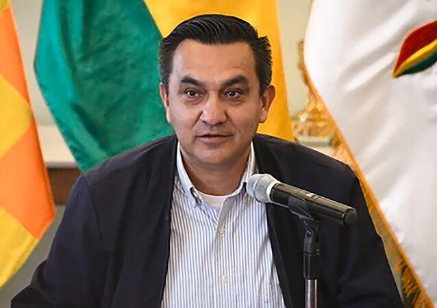 Yerko Núñez, ministro de la Presidencia de Bolivia