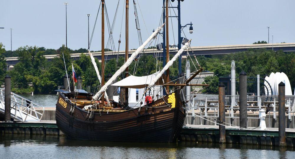 El velero Pilgrim