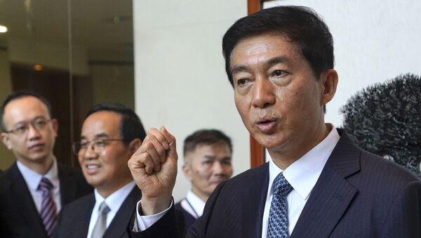 Luo Huining, asesor para seguridad nacional del Comité de Seguridad Nacional en Hong Kong - Sputnik Mundo