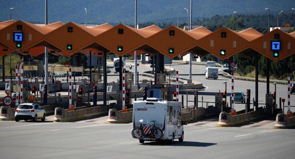 Frontera de España