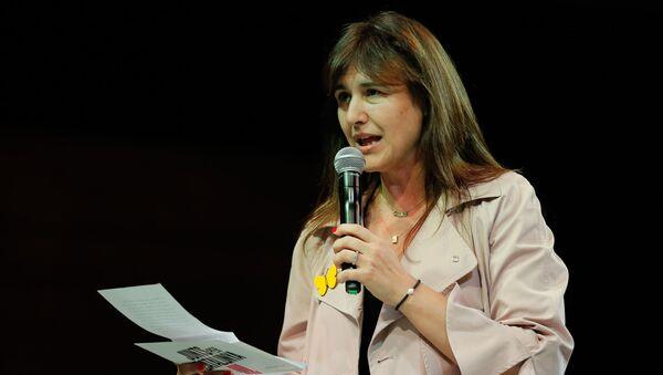 Laura Borràs, la diputada y líder de la formación Junts per Cataluña (JxCat)  - Sputnik Mundo