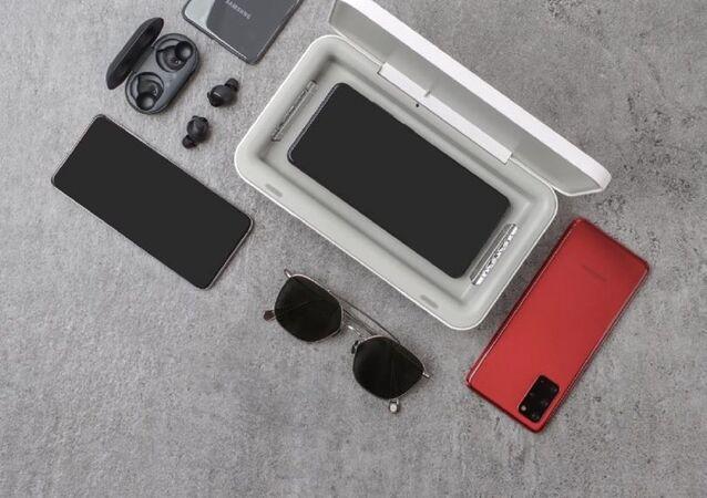 El esterilizador UV portátil de Samsung