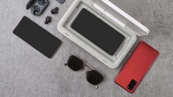 El esterilizador UV portátil de Samsung  - Sputnik Mundo
