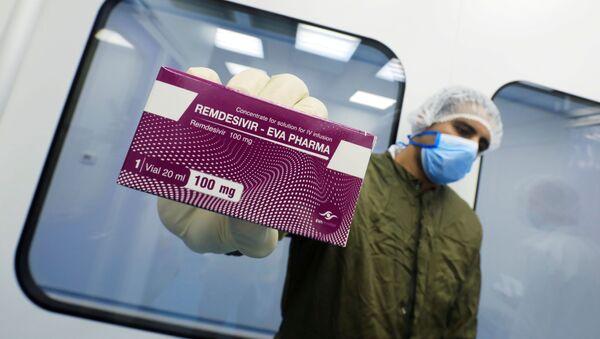 Remdesivir, el fármaco contra el COVID-19 - Sputnik Mundo