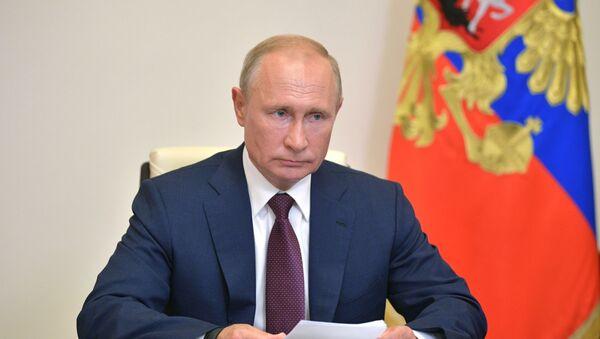El presidente ruso, Vladímir Putin - Sputnik Mundo
