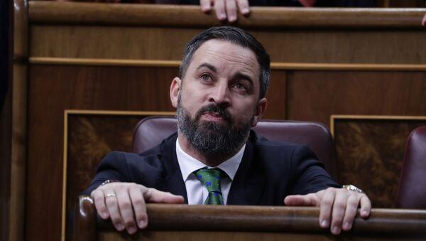 Santiago Abascal, líder de Vox - Sputnik Mundo
