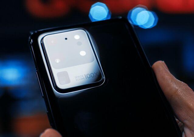 Un Samsung Galaxy S20 Ultra