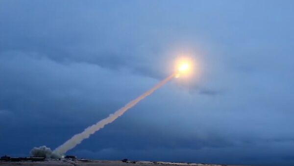 Pruebas del misil Burevestnik (archivo) - Sputnik Mundo