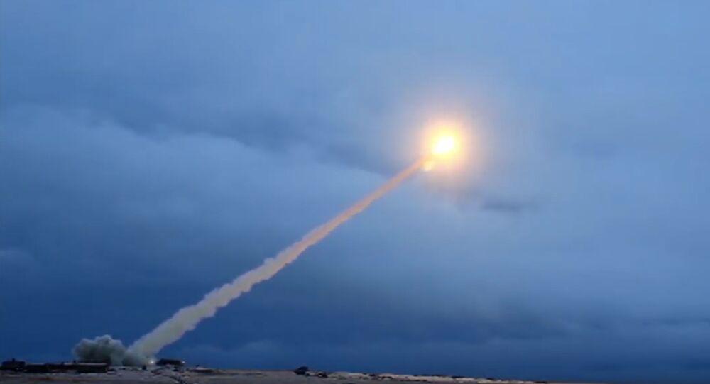 Pruebas del misil Burevestnik