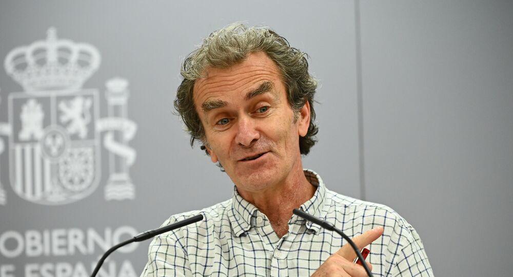 Fernando Simón, director del Centro de Coordinación de Alertas y Emergencias Sanitarias