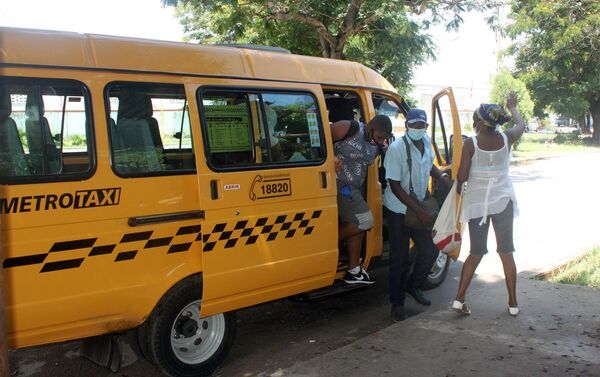 Servicio de taxis en La Habana - Sputnik Mundo
