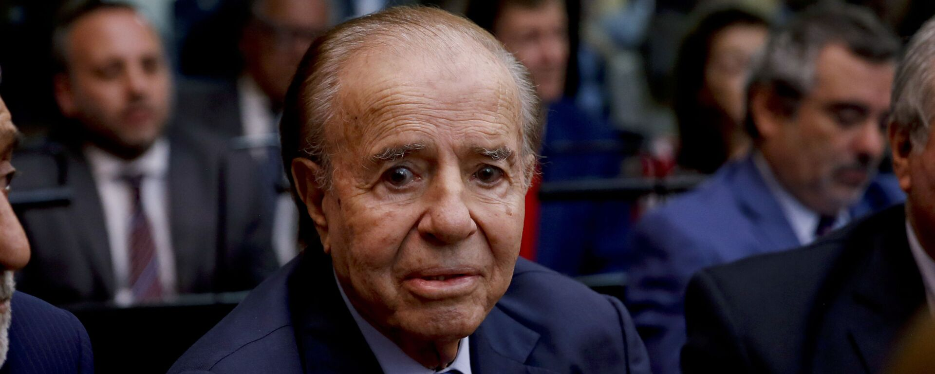 Carlos Saúl Menem, expresidente de Argentina - Sputnik Mundo, 1920, 14.02.2021