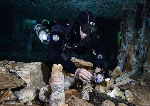 Descubren en México la más antigua mina de ocre del continente americano