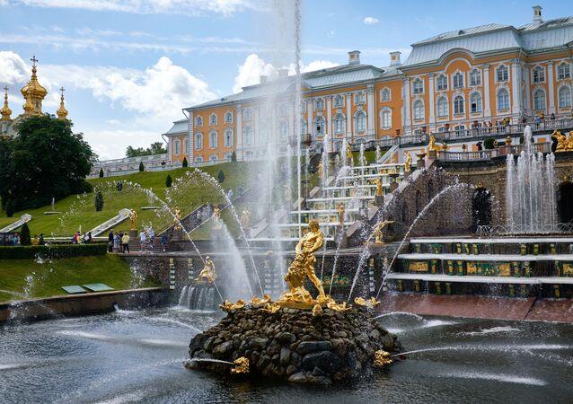 El museo-reserva estatal ruso Peterhof