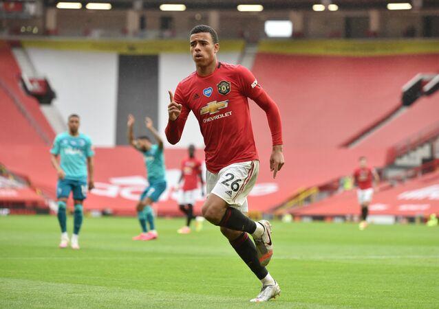 Mason Greenwood, delantero de Manchester United